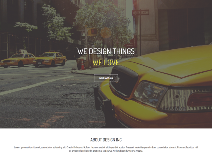 Web Design Layout We Love Design